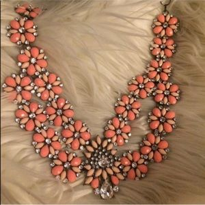 Bauble bar never worn statement necklace